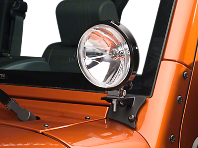 Body Light Mounts 2007-2018 JK