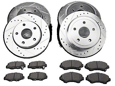 Brakes 2007-2018 JK