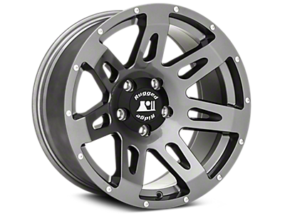 Jeep Gun Metal Wheels