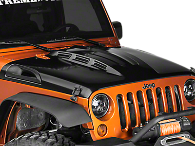 Hoods & Hood Accessories<br />('07-'16 Wrangler)