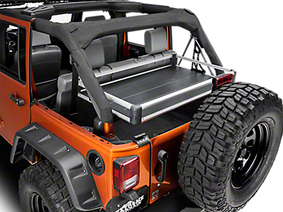 Jeep Rear Cargo Storage