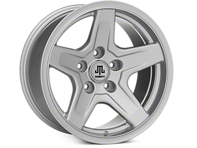 Jeep Silver Wheels