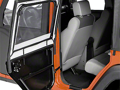 Jeep Upper Half Doors, Skins & Hardware 2018-2019 JL