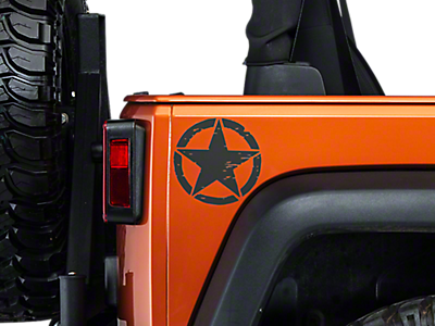 Vinyl Decals & Graphics 2007-2018 JK