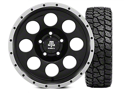 Wrangler Wheel & Tire Kits 2007-2018