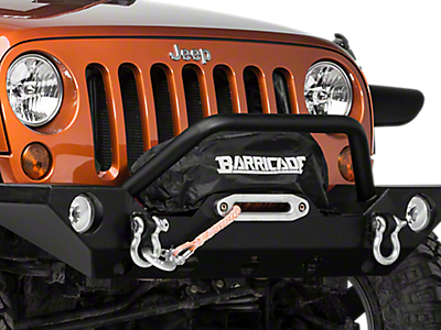 Wrangler Winch Accessories 2007-2018 JK
