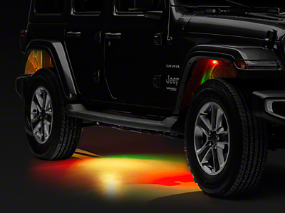 Jeep Rock Lights 2018-2019 JL