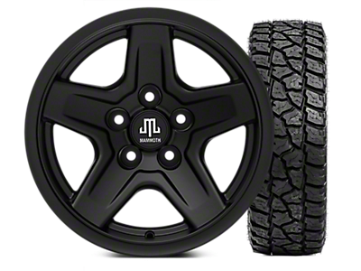 "33"" Wheel & Tire Kits 1997-2006 TJ"