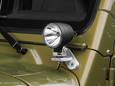 Body Light Mounts 1997-2006 TJ