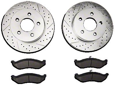 Brakes 1997-2006 TJ