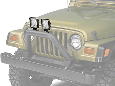 Bumper Mounted Lights<br />('87-'95 Wrangler)