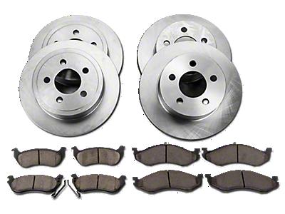 Wrangler Brake Rotors & Drums 2007-2018 JK
