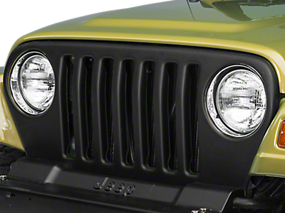 Grille Inserts & Overlays<br />('97-'06 Wrangler)
