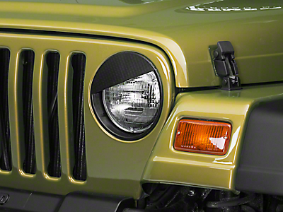 Jeep Light Guards & Covers 1997-2006 TJ