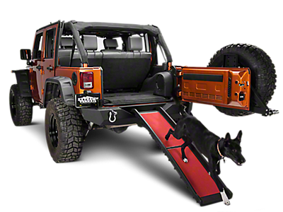 Jeep Pet Accessories 1997-2006 TJ