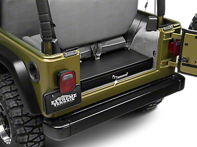Rear Cargo Storage 1997-2006 TJ