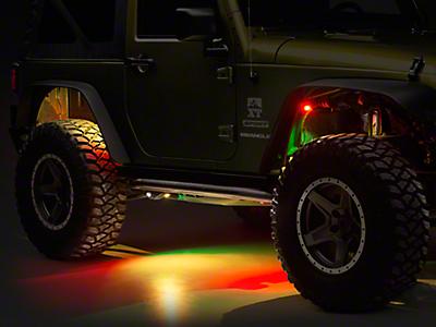 Jeep Rock Lights 1997-2006 TJ