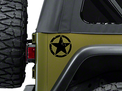 Jeep Stickers & Vinyl Decals 1997-2006 TJ
