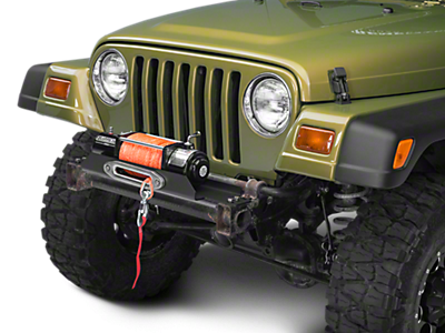 Winch Mounting Plates<br />('97-'06 Wrangler)