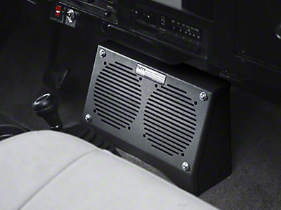 Audio & Speaker Enclosures<br />('87-'95 Wrangler)