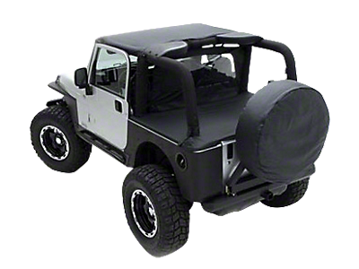 Jeep Bikini Tops, Mesh Tops & Accessories 1987-1995 YJ