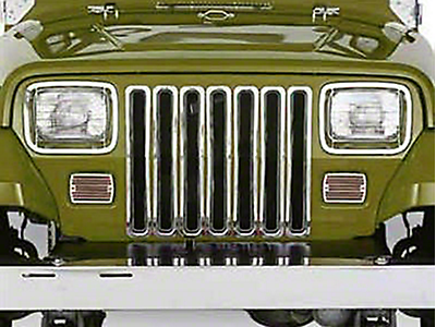 Jeep Grille Inserts & Overlays 1987-1995 YJ