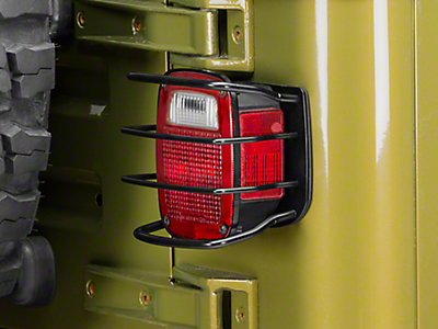 Jeep Light Guards & Covers 1987-1995 YJ