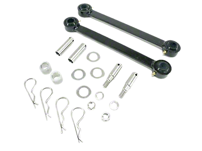 "Jeep Sway Bar Disconnects 0"" - 2"" Lift 1987-1995 YJ"