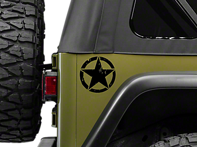 Stickers & Vinyl Decals 1987-1995 YJ